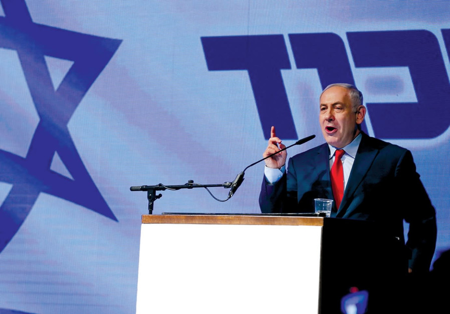 In the coalition showdown, Netanyahu is the star, director and producer