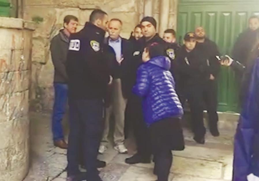 Olive branch sparks Temple Mount spat for congressmen