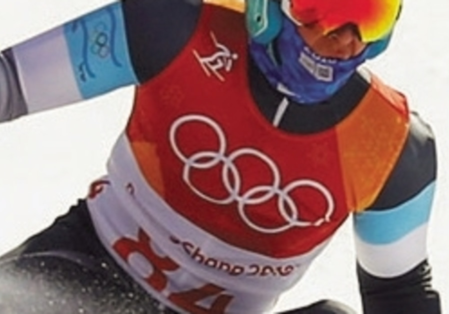 Blue-and-white athletes all done at Winter Olympics