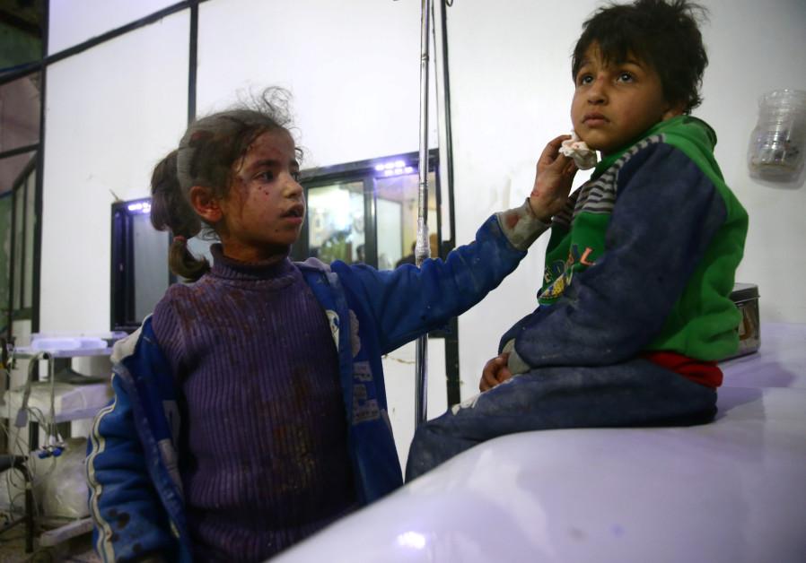 Israeli hospital treats Syrians suffering from emotional trauma