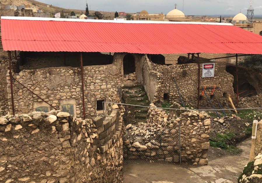 Progress made on saving Prophet Nahum's tomb in Iraq