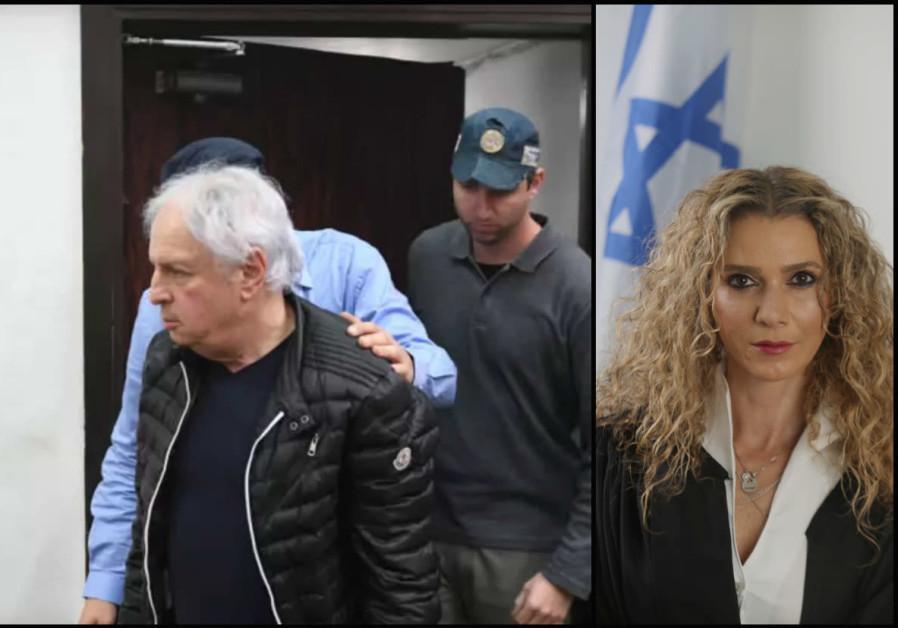 Bezeq shareholder Shaul Elovich and Tel Aviv Court Judge Ronit Poznanski-Katz