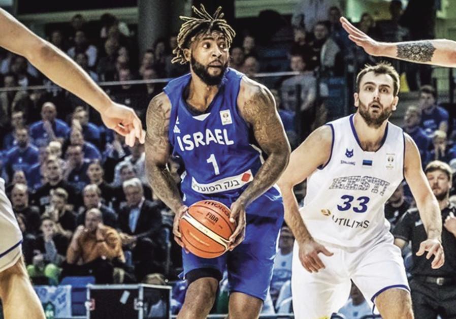 Israeli national basketball team center Richard Howell