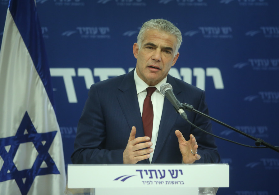 Lapid warns Netanyahu endangering bipartisan support in the U.S.