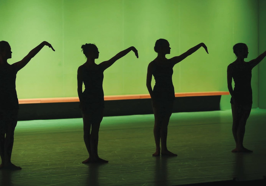 Dancers from the Batsheva Dance Company