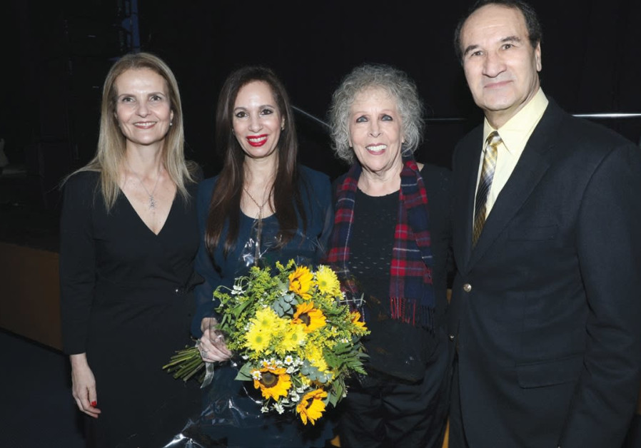 FROM LEFT: Mickey Dahav, CEO of the Spirit of Israel; Tirza Brody; Ofra Fuchs Manor and Tal Brody.