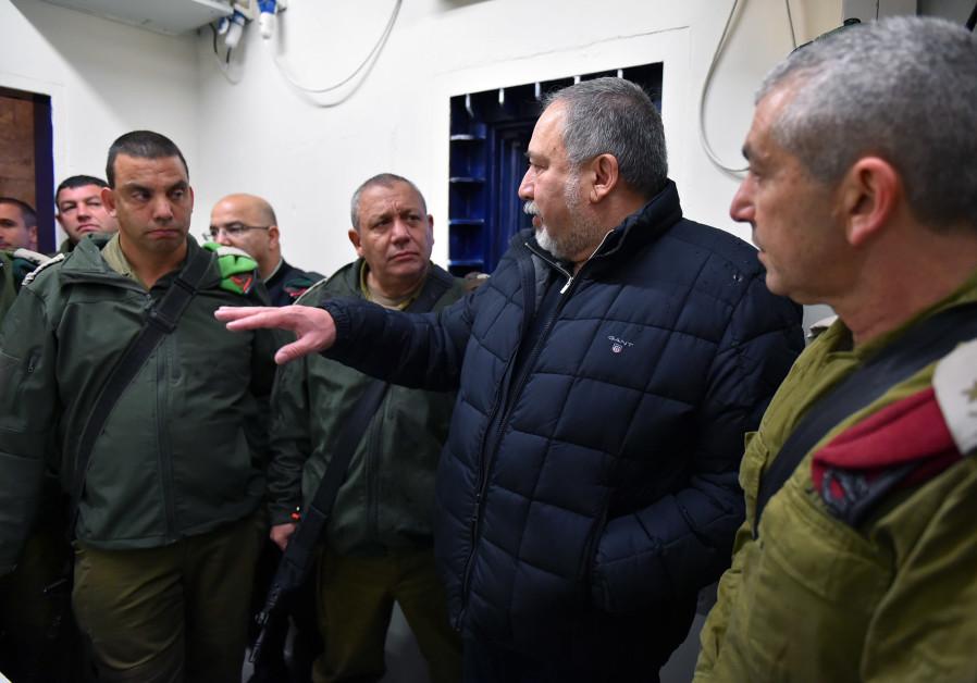Liberman: IDF foils 20 to 30 terrorist attacks a week