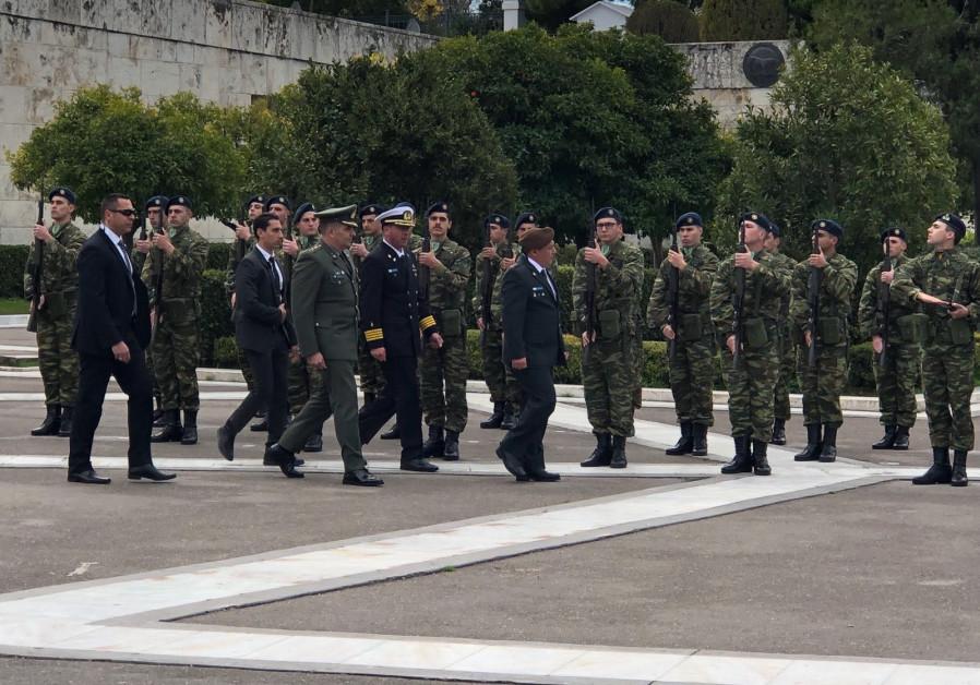 IDF Chief of Staff Gadi Eisenkot in Greece