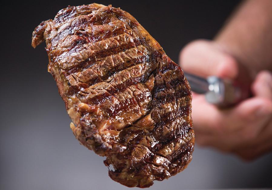 Steak from Gillis Steak House