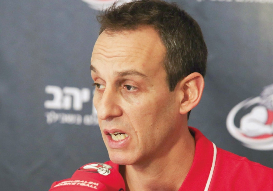 Katash introduced as head coach of Hapoel Jerusalem