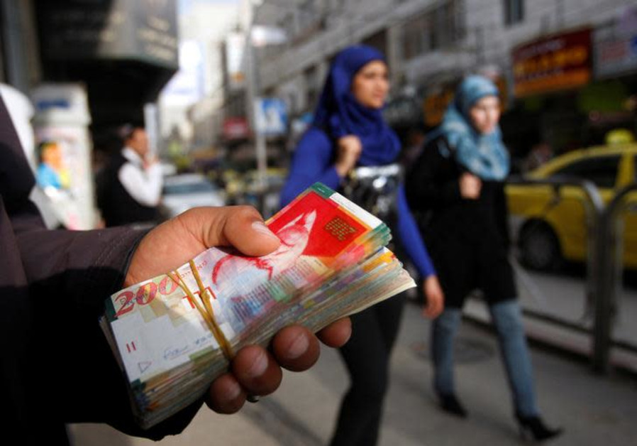 Palestinians: 'Israel owes us $360 million from 17 years of unpaid taxes'
