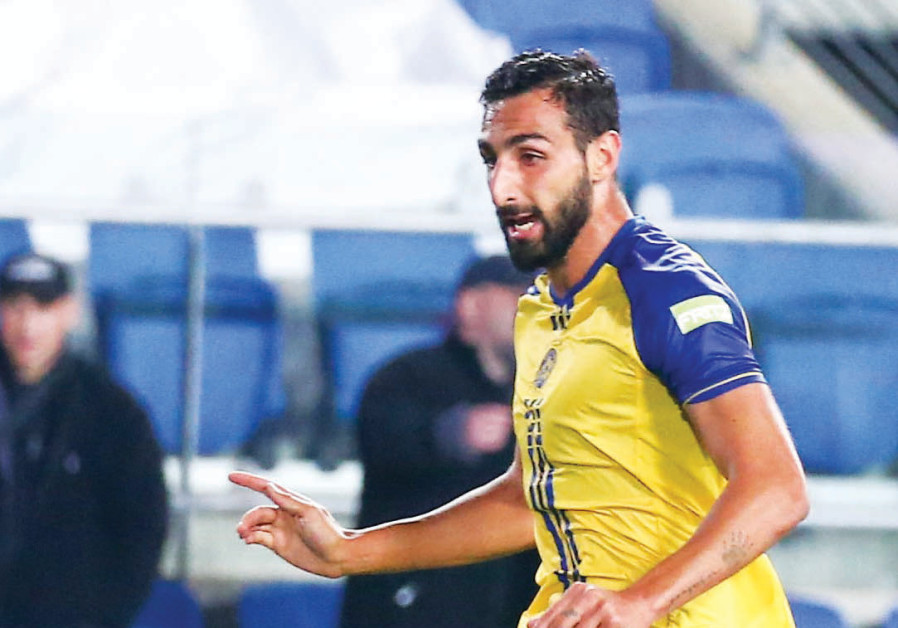 Maccabi Tel Aviv's Spanish midfielder Jose Rodriguez looks to build on his impressive performance