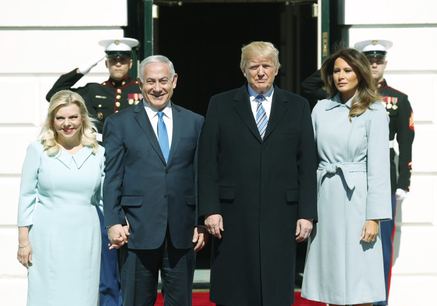 Amid controversy at home, Netanyahus receive warm White House welcome