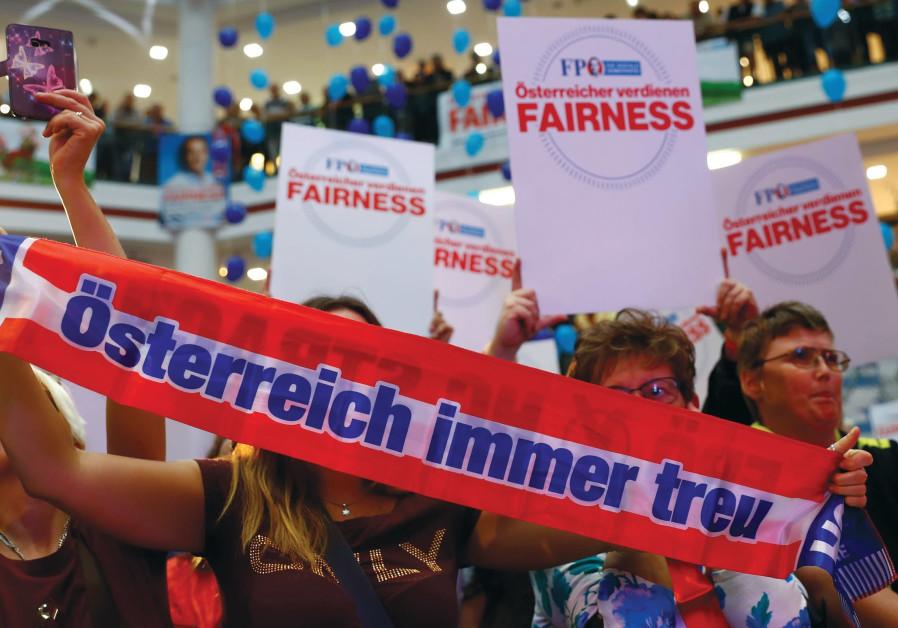 Fraternities set the tone in Austria's politics