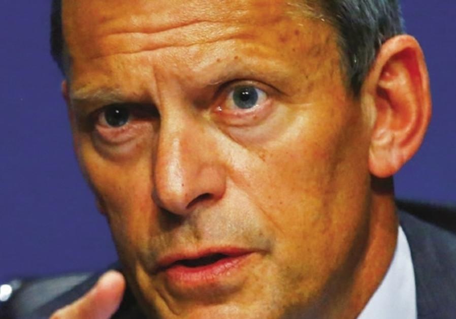 England's Football Association chief executive Martin Glenn