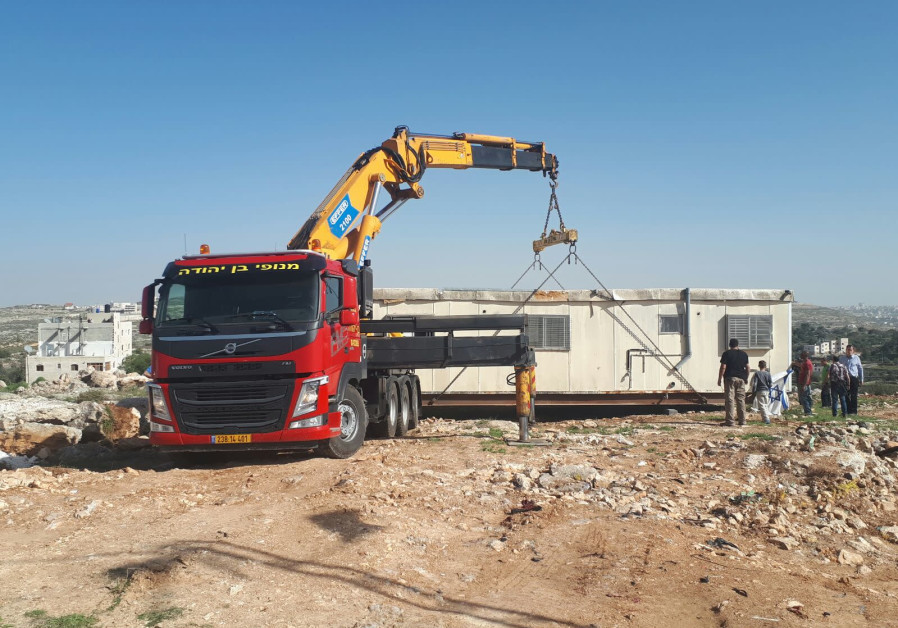 Work starts on new industrial zone Kiryat Arba settlement