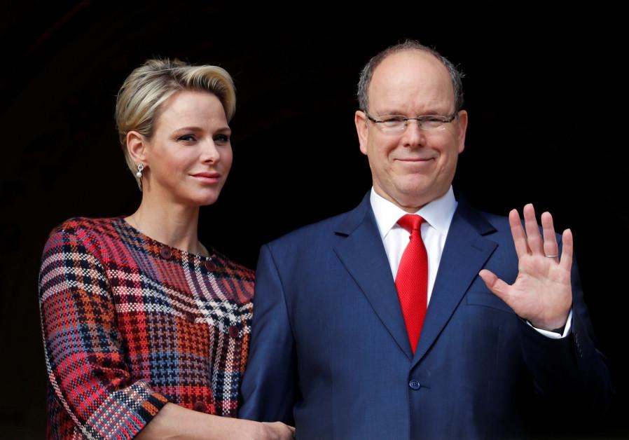 Prince Albert II of Monaco and his wife Princess Charlene