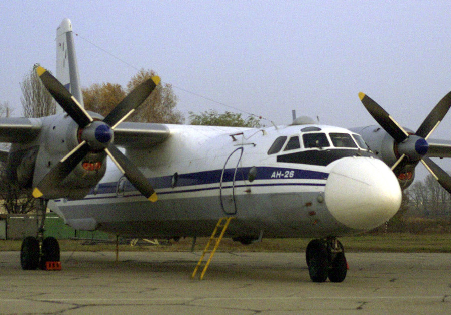 AN-26 plane