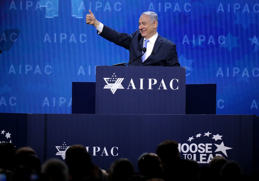 Working the U.S. crowd: Netanyahu sidesteps legal and political woes at home