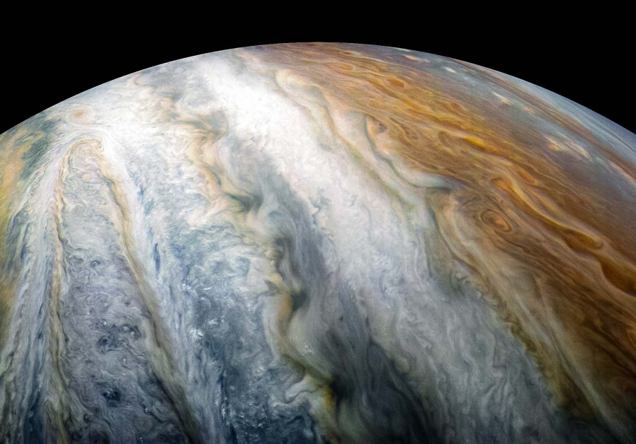 Scientists discover geometric clusters of cyclones churning over Jupiter's poles