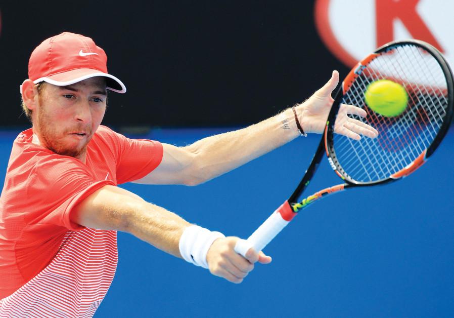 Israeli tennis player Dudi Sela.