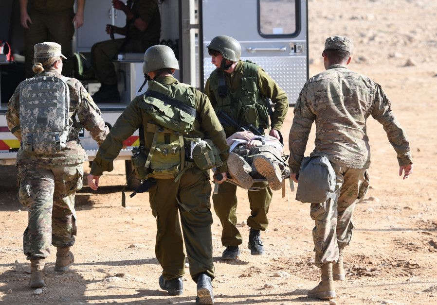 Israeli and American soldiers take part in the joint Juniper Cobra drill (Credit: U.S. Air Force Tech Sergeant Matthew Plew)