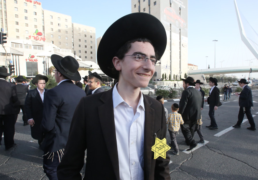Haredi Jews In Israel: Haredim Protest In Jerusalem Over Proposed Draft Law