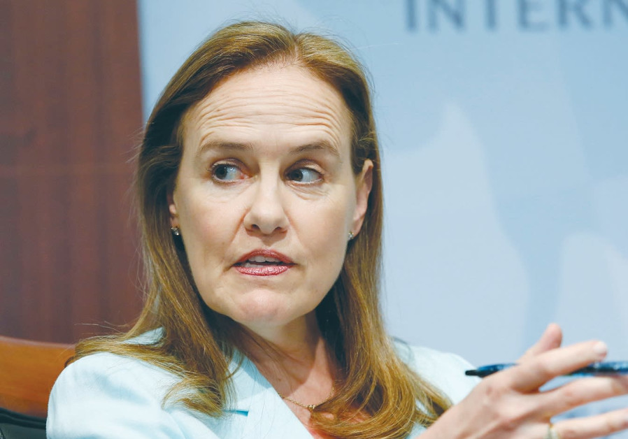 Former defense undersecretary for policy Michèle Flournoy, CEO of the Center for a New American Security. (Yuri Gripas/Reuters)