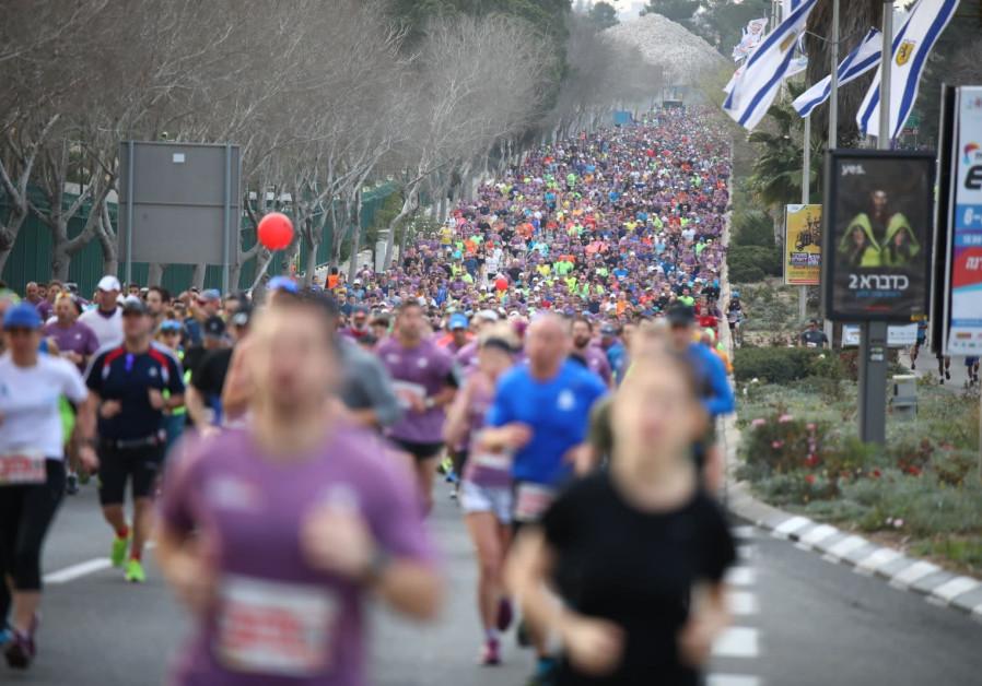 Jerusalem Marathon, March 2018