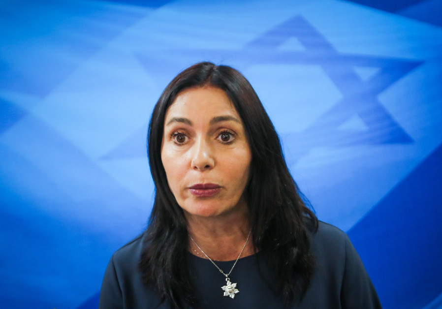 Culture Minister Miri Regev cabinet meeting March 11, 2018