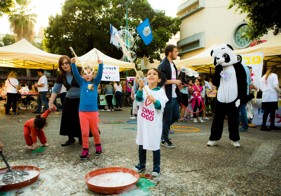 2 million Israelis to volunteer in the 12th annual Good Deeds Day