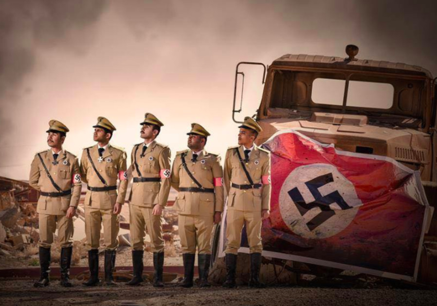 Outrage after University of Baghdad medical students dress up as Nazis
