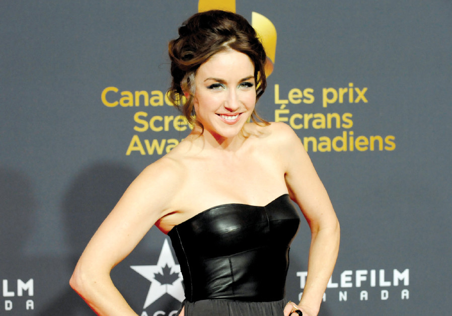 ACTRESS Erin Karpluk, nominated for best performance in a leading role for her work in 'Being Erica