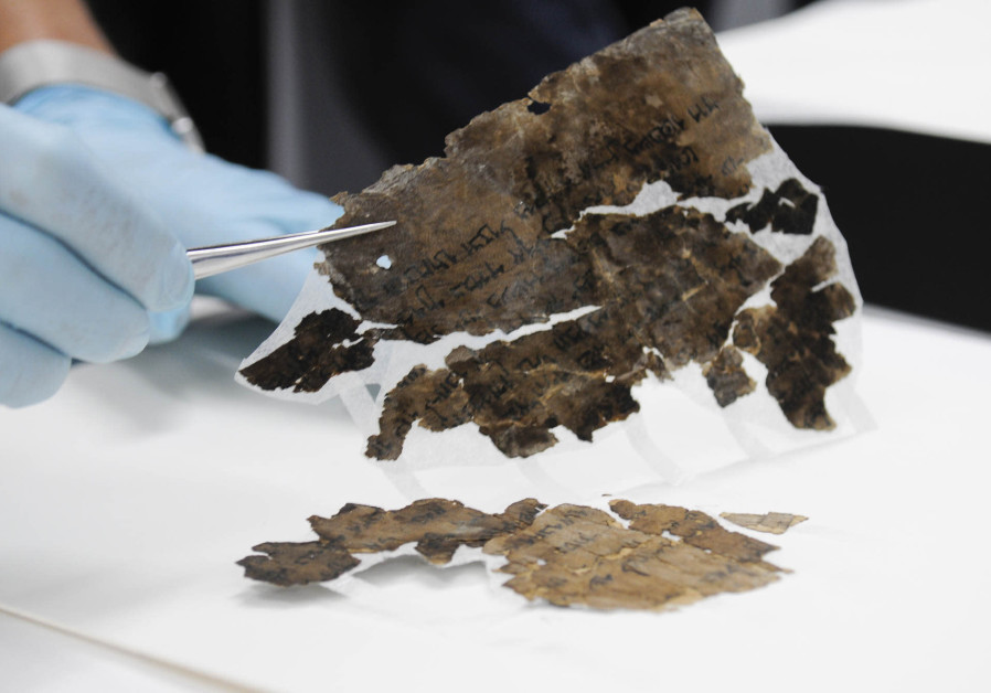 Conserving the Dead Sea Scrolls at the Israel Antiquities Authority laboratories in Jerusalem