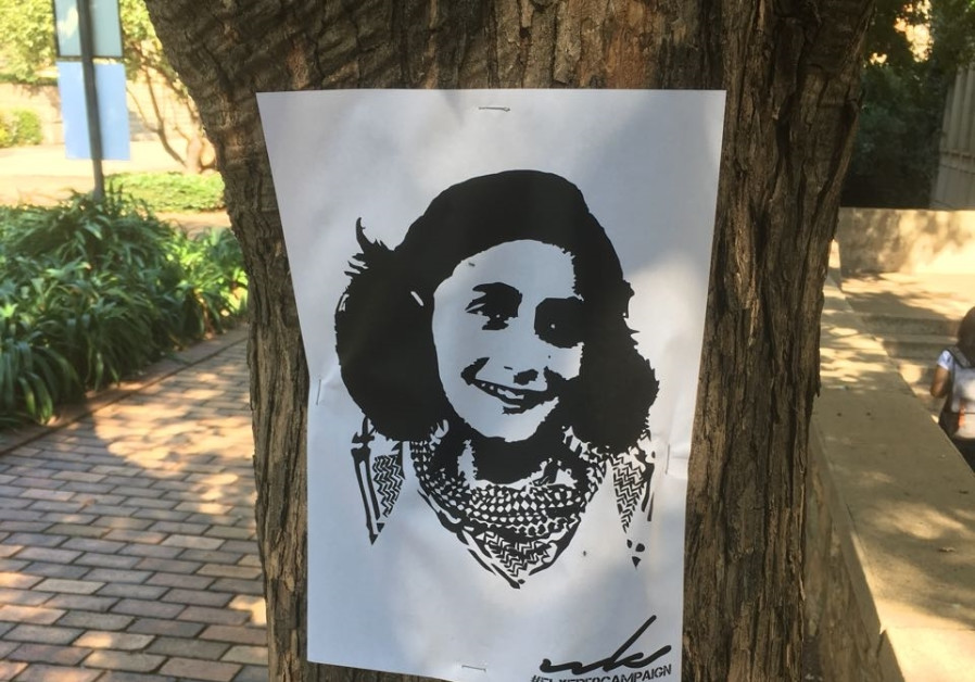 South African students mark Israel Apartheid week with Palestinian Anne Frank