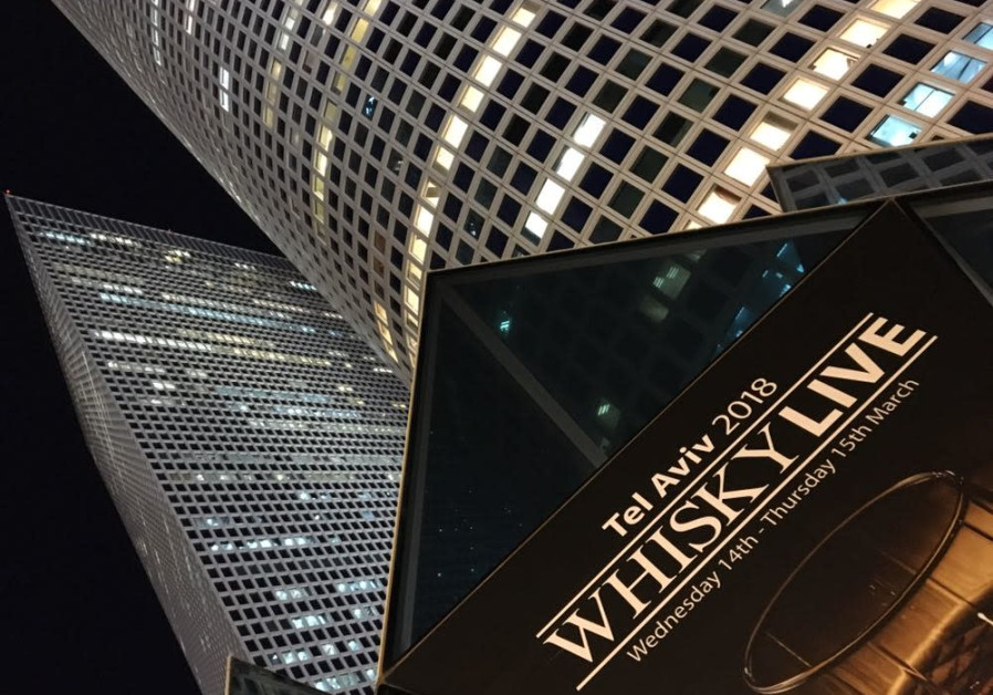 Whisky Live 2018, roof of Azrieli Mall