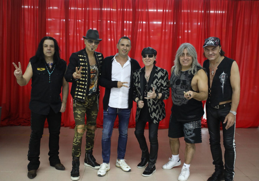 The Scorpions surprise Playtika employees with private Israel show