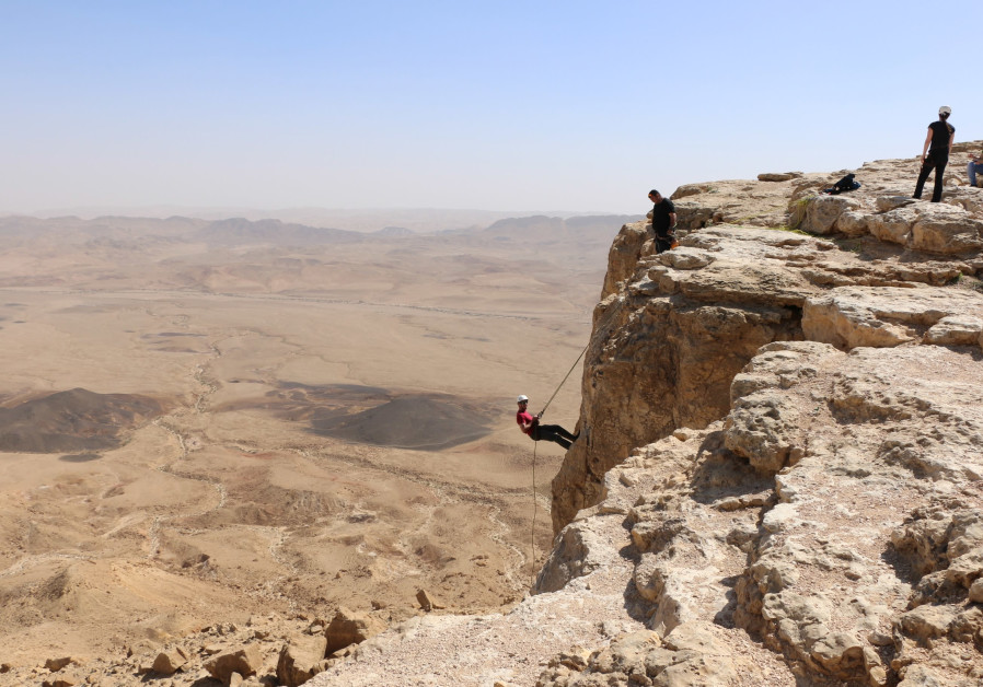 Desert adventures at Mitzpe Ramon