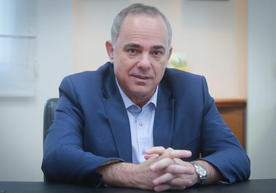 Energy Minister Yuval Steinitz