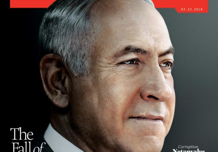 Newsweek cover anticipates the fall of 'King Bibi'