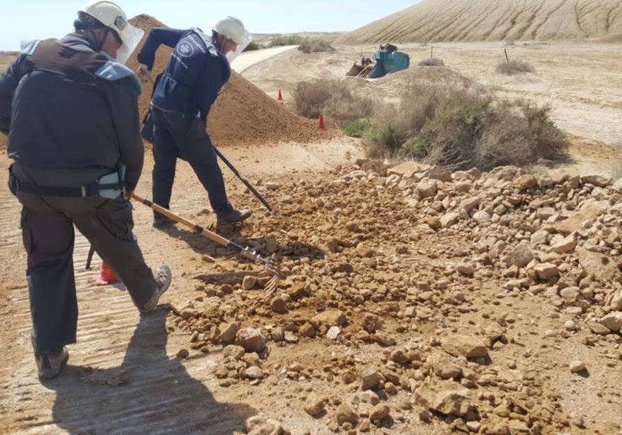 Israel begins to clear Qasr al-Yehud baptism site of mines