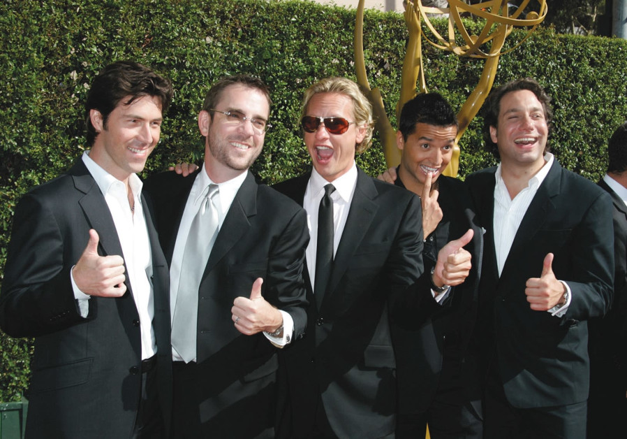 """The cast of the original """"Queer Eye for the Straight Guy"""""""