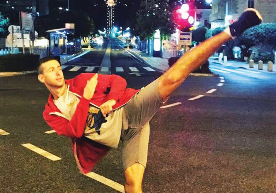 Israeli taekwondo fighter Oleksandr Filippov