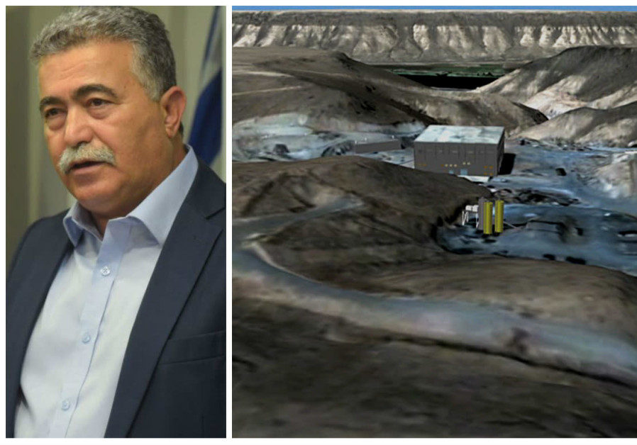 Former Defense Minister Amir Peretz and the Syrian reactor destroyed in 2007