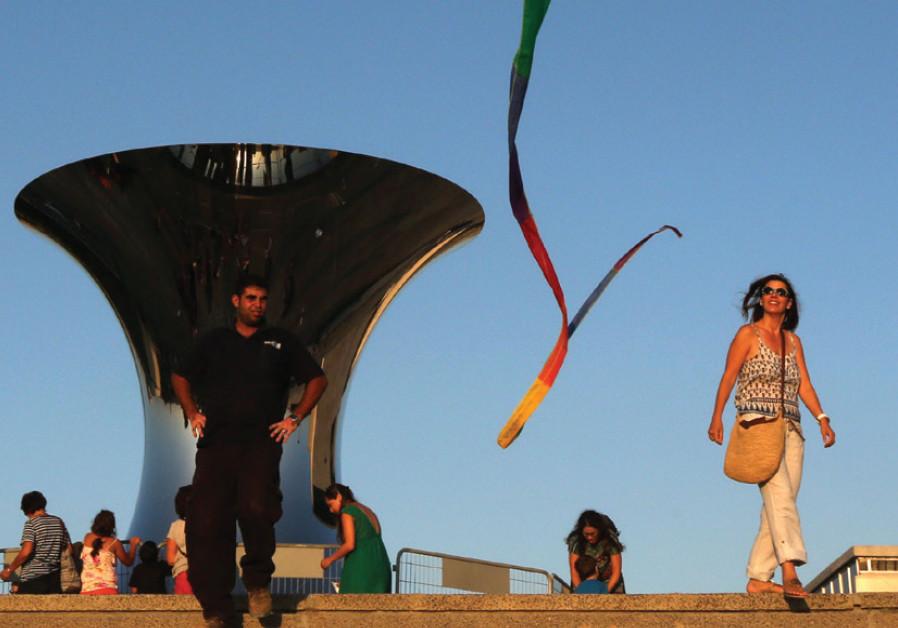 The Israel Museum's kite-flying festival