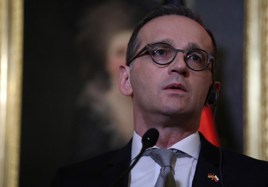 German FM rejects predecessor's characterization of 'apartheid' Israel