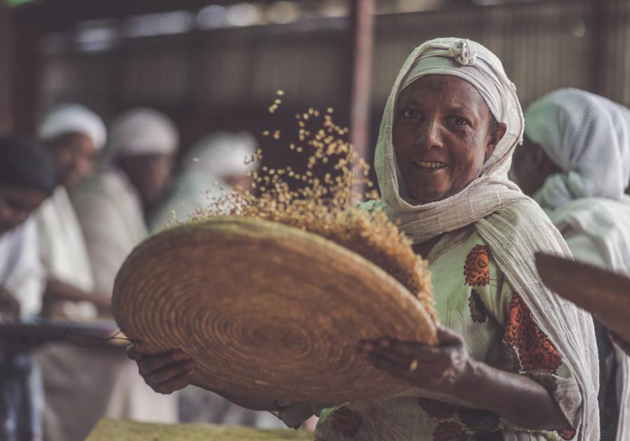 Ethiopian Jews prepare for Passover