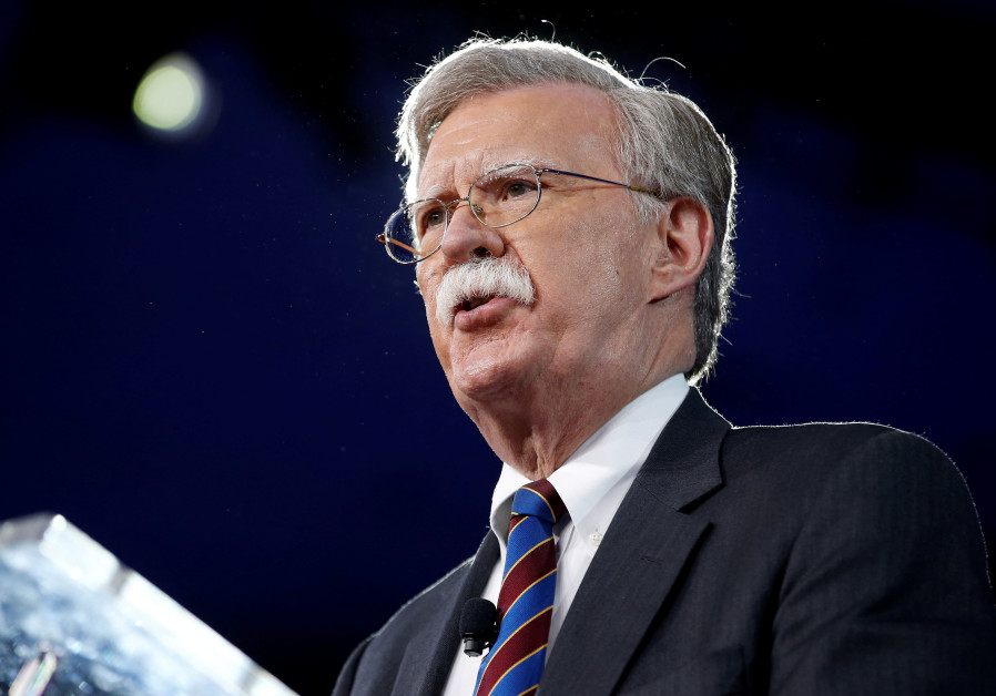 Bolton Israel U.S. Russia all have interest in getting Iran out of Syria