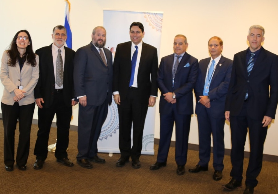 Israel hosts UN water solutions event with dignitaries from across globe