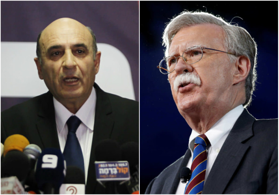 Former defense minister Mofaz: Bolton tried to convince me to attack Iran